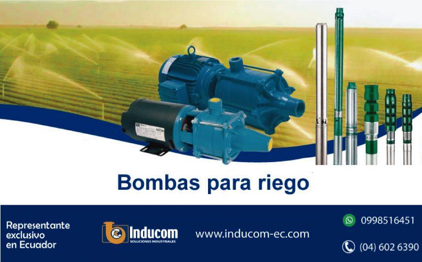Bombas para riego en ecuador