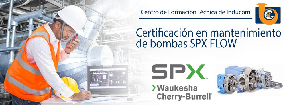 Certificacion en Bombas SPX en Ecuador