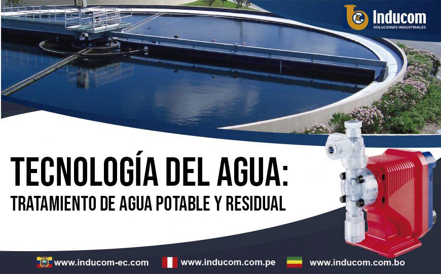 tecnologia del adua tratamiento de agua potable y residual