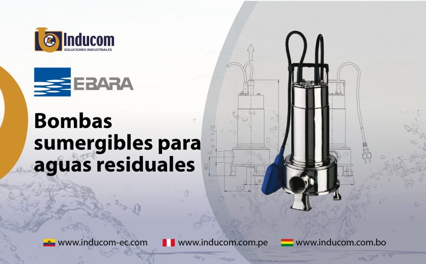 Bombas sumergibles de Aguas Residuales_Mesa